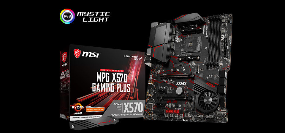 MPG 570 GAMING PLUS Motherboard