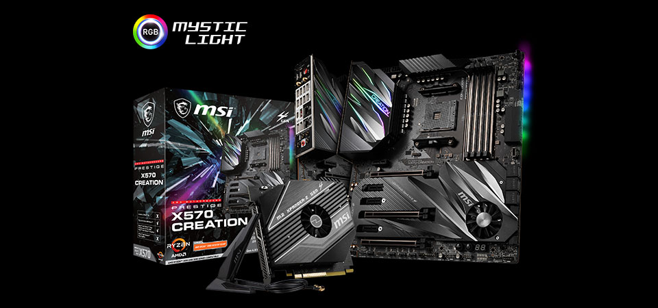 PRESTIGE X570 CREATION Motherboard