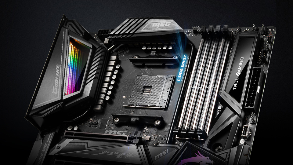 MSI X570 Motherboards Roll Out: The Best Thermal and WiFi