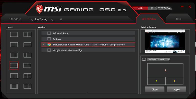 What are the top features for MSI Gaming OSD 2 0