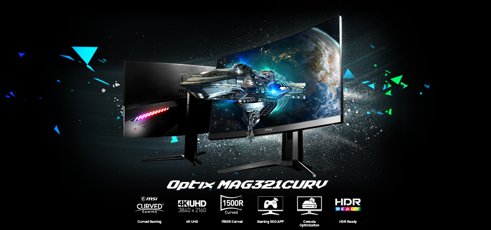 Introducing the New 4K Gaming Monitor- Optix MAG321CURV