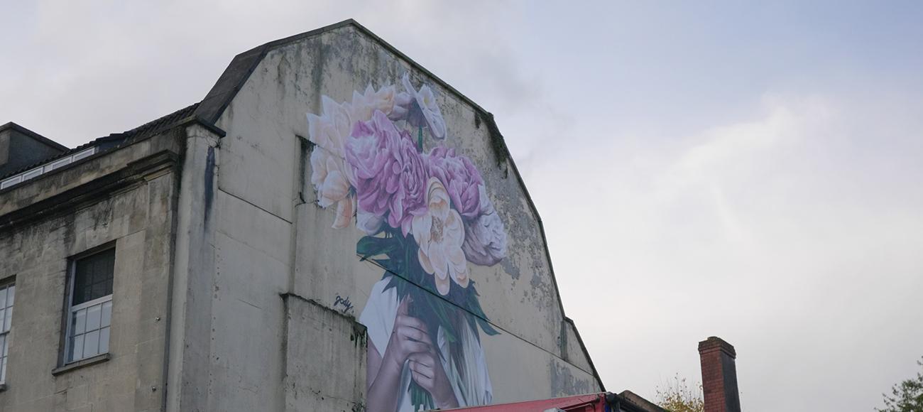 A Snapshot from Bristol's Many Famous Graffiti Scenes