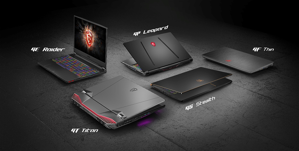 Msi Gaming Laptop Naming Explained
