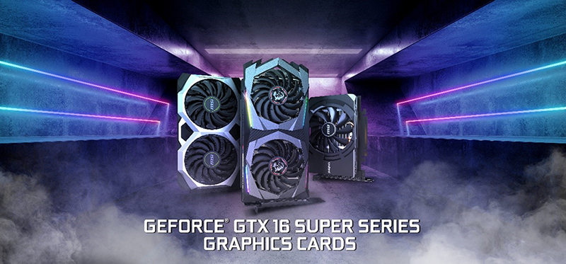 GeForce® GTX 16 SUPER