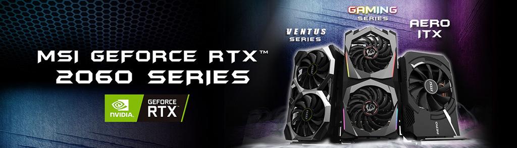 MSI announces custom GeForce RTX 2060 GPU series | MSI Global
