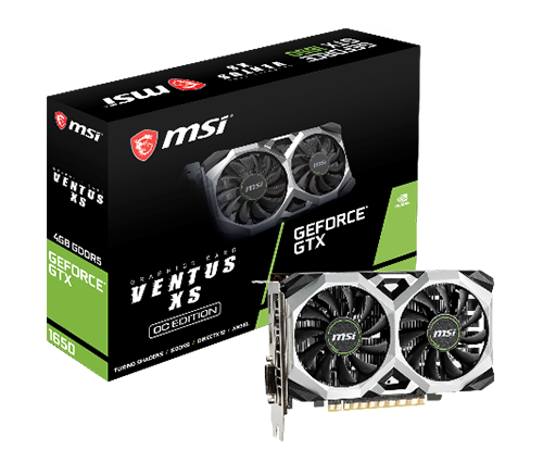 MSI Announces New GeForce® GTX 1650 Series Graphics Cards