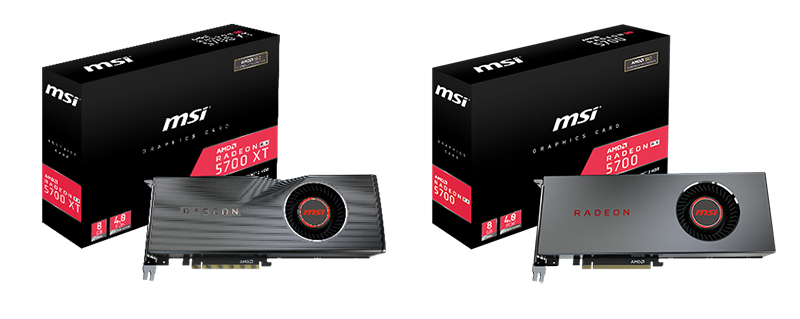 MSI Announces RADEON™ RX 5700 series Graphics Cards | MSI Global
