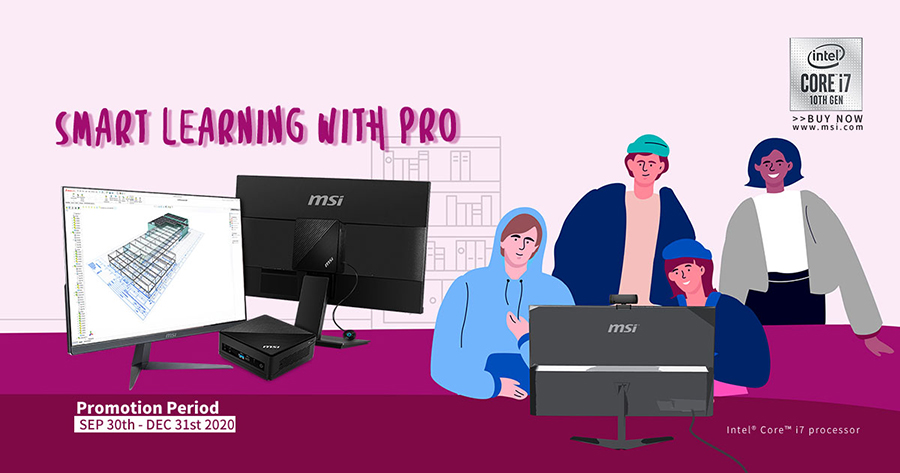 Smart Learning from Home with PRO