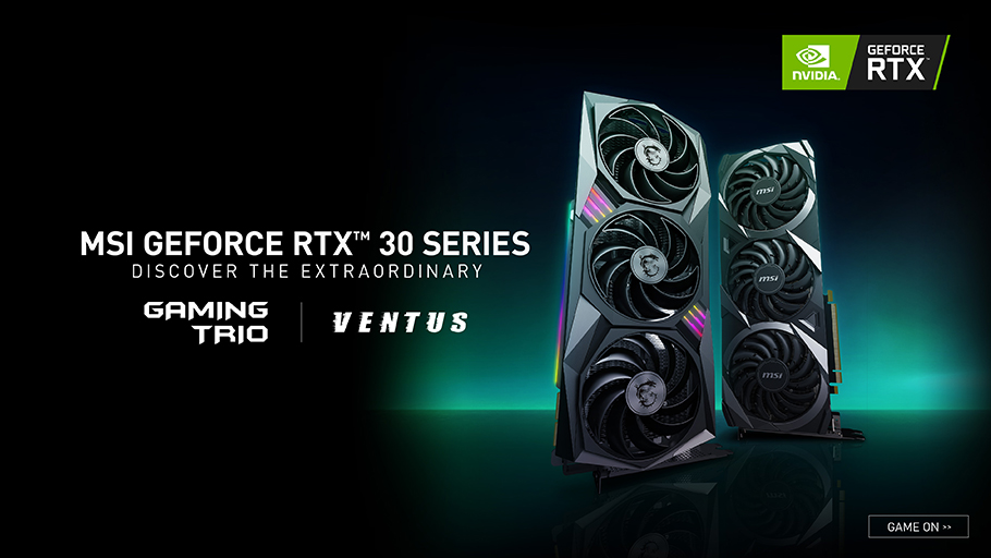 GeForce RTX™ 30 Series