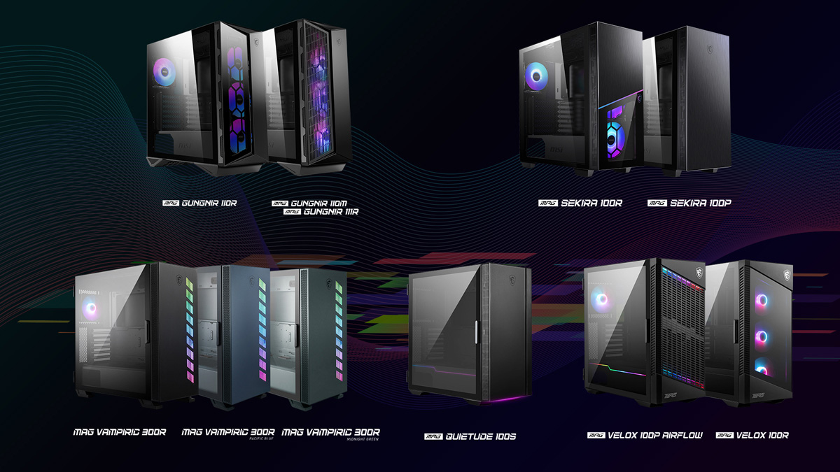 MSI PC Cases Are Future Ready With USB 3.2 Gen 2x2
