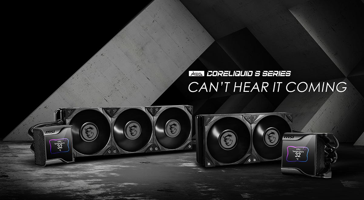 MEG CORELIQUID S Series Liquid Coolers