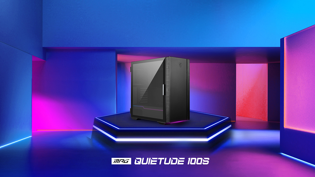MPG Quietude 100S case