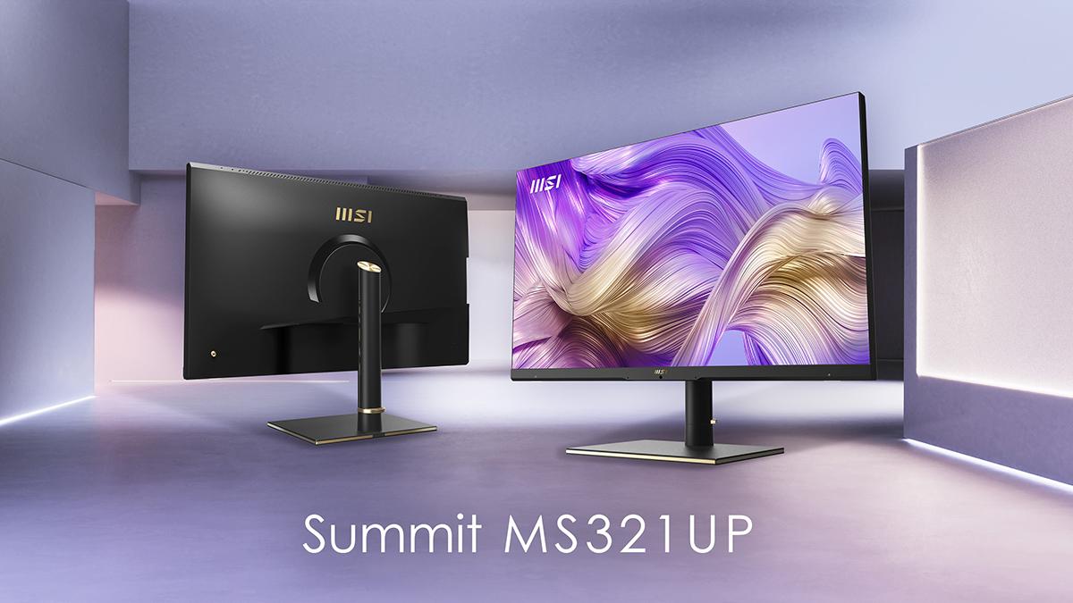 "MSI Summit MS321UP 32"" 4K UHD IPS Monitor"