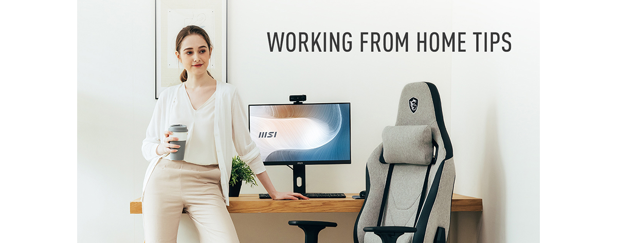 Let's go over a few tips for working from home