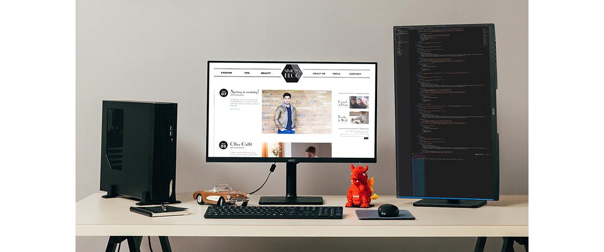 Consider Multi-Monitor Work Setups