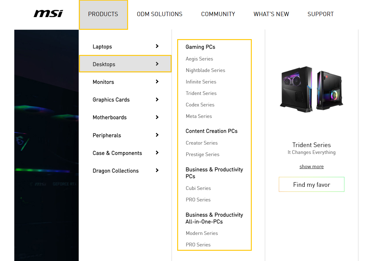 Firstly, confirm your system spec and choose compatible components