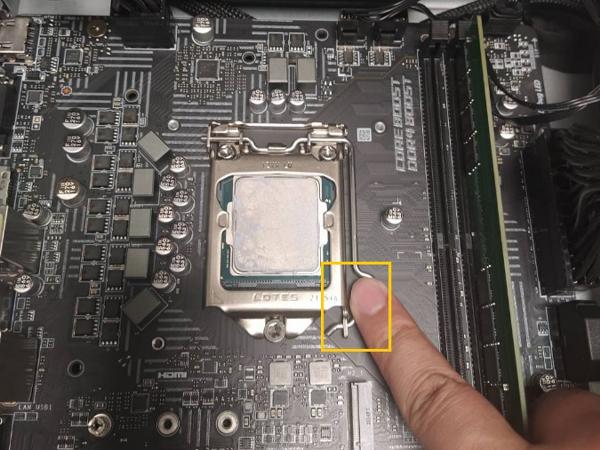 Take off CPU