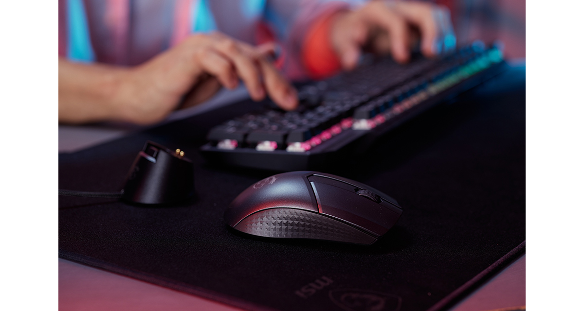 MSI CLUTCH GM41 LIGHTWEIGHT WIRELESS Gaming Mouse: Pinnacle of Precision