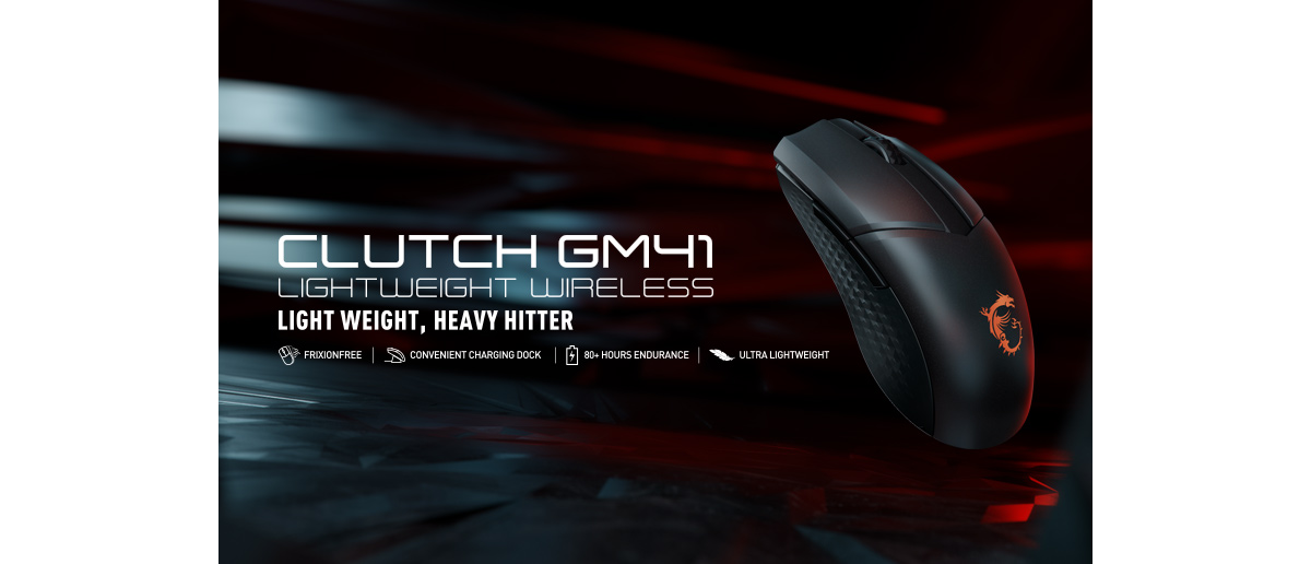 Introducing CLUTCH GM41 Lightweight Wireless – A closer look at thewireless technology