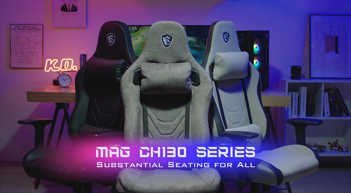 New MAG CH130 Series Gaming Chair