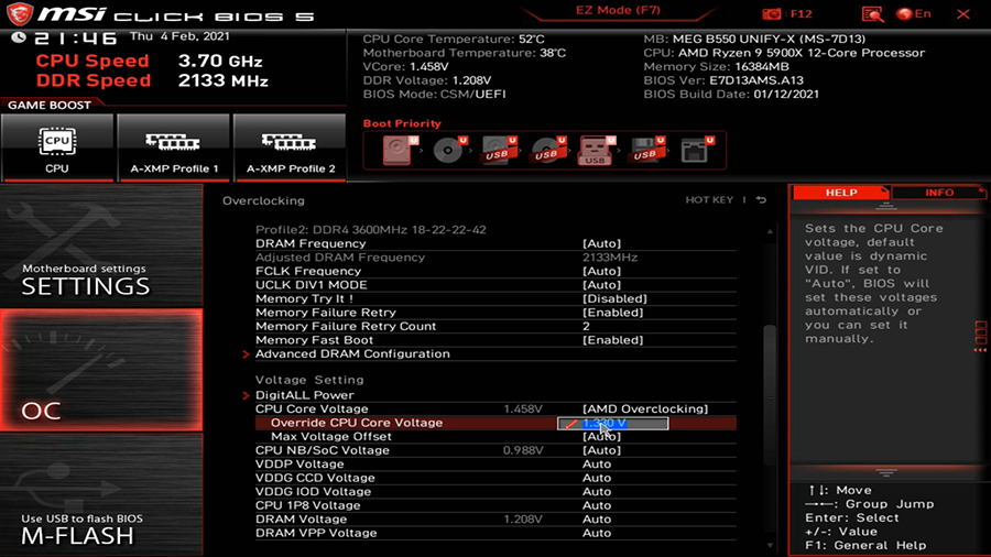 AMD Overclocking
