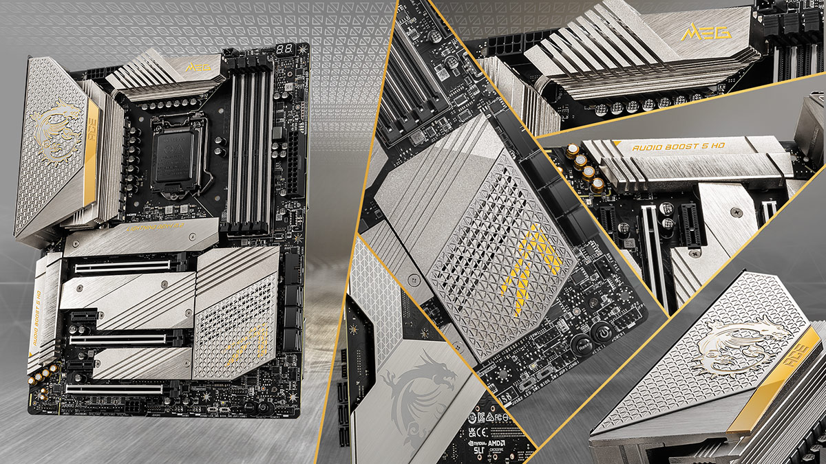 MEG Z590 ACE GOLD EDITION - REVEAL THE PURE LUSTER WITH 24K GOLD