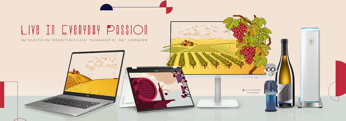 Live in Everyday Passion with MSI