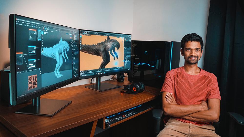 Raghav in His Natural Habitat