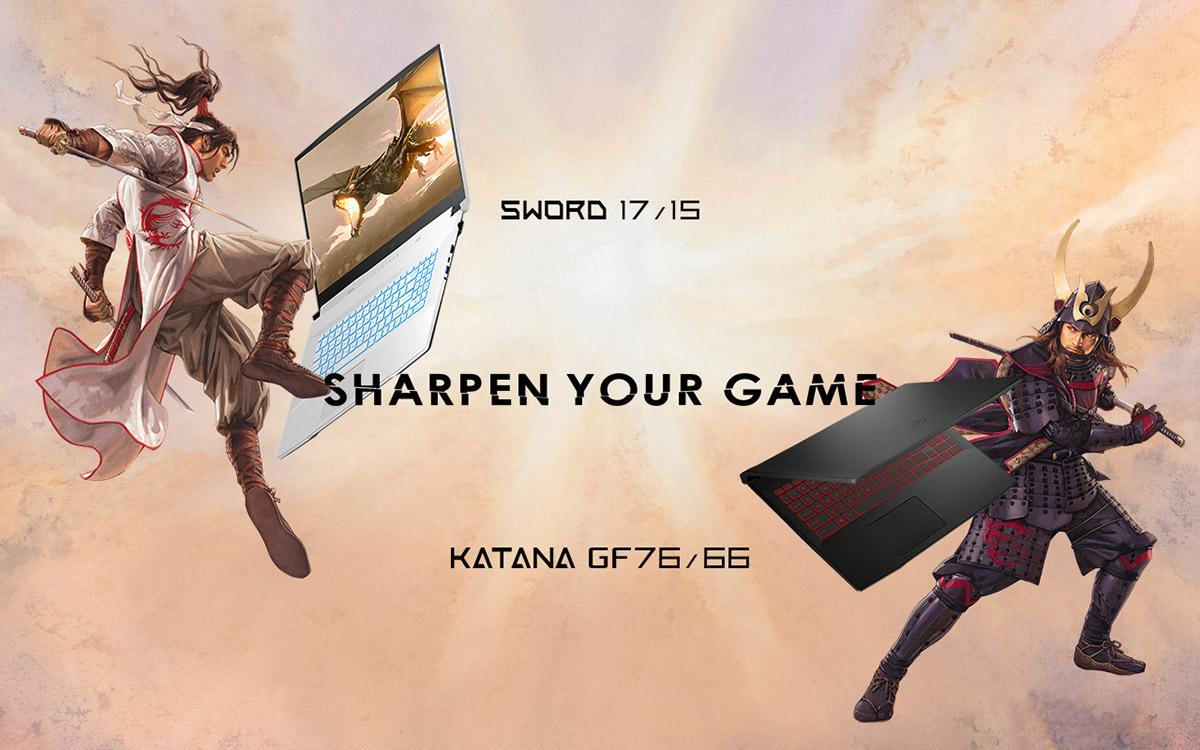 Sharpen Your Game - Sword 17/15, Katana GF76/66