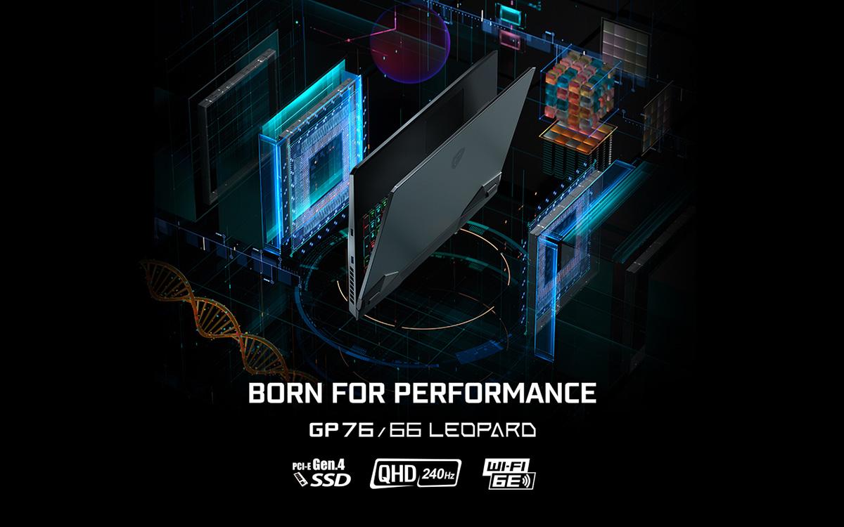 Born for Performance – GP76/66 Leopard