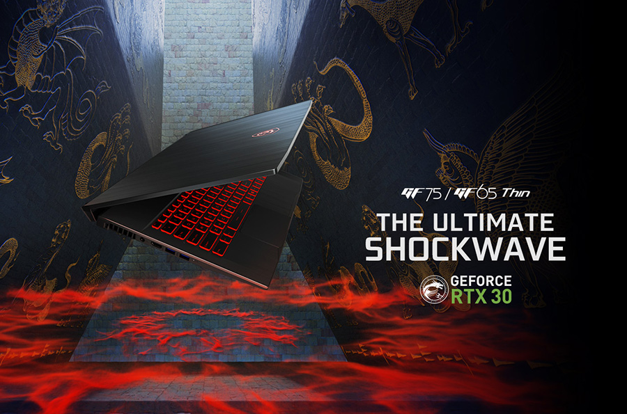 RTX™ 30 Series Gaming Laptops