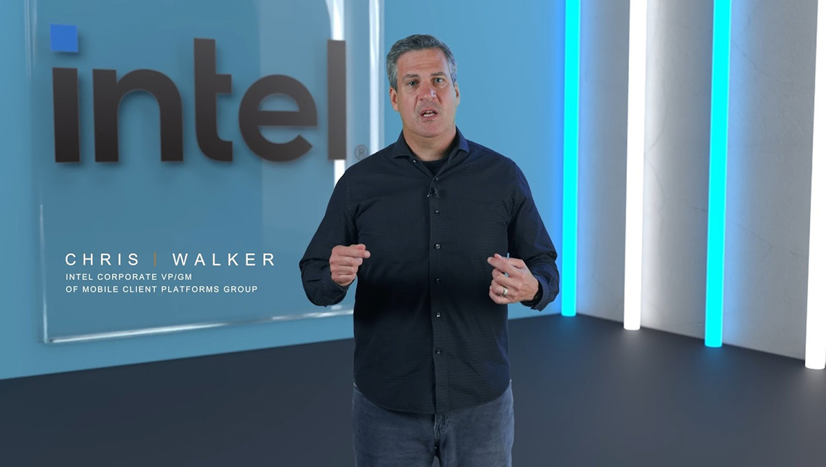 Intel副總裁暨筆記型電腦用戶平台事業部總經理Chris Walker