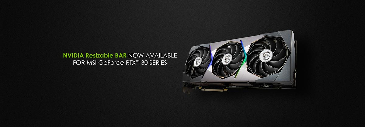 MSI GeForce RTX 30 Series