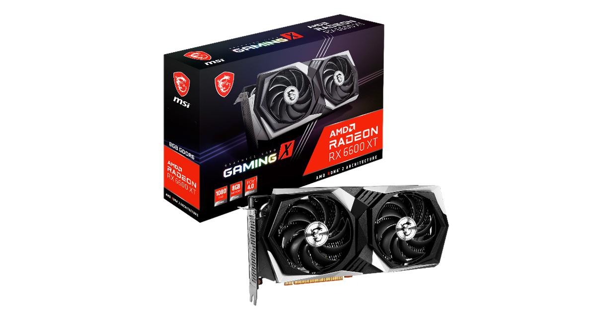 MSI AMD Radeon™ RX 6600 XT GAMING series