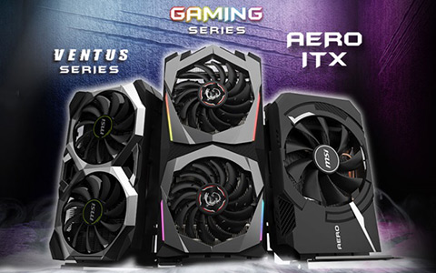 MSI announces custom GeForce RTX 2060 GPU series