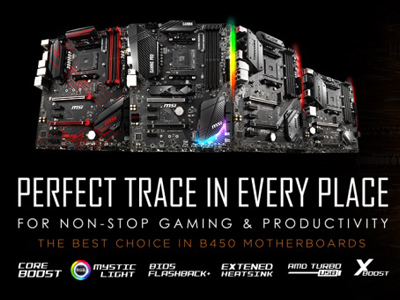 MSI AMD X470 and B450 Motherboards BIOS update is Available for the Upcoming AMD Raven Ridge Processors