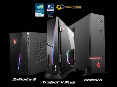 The real game changer; These are the world's smallest gaming desktops: MSI compact gaming PCs