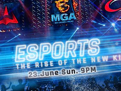 MSI, la marca líder en Gaming, se enorgullece de ser la Fuerza Motriz detrás del programa de Discovery Channel ESPORTS: THE RISE OF THE NEW KING