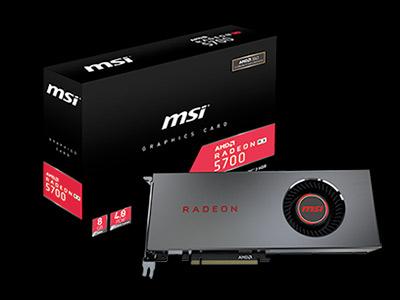 MSI annuncia le nuove schede grafiche RADEON™ RX 5700