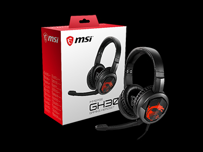 MSI announces Immerse GH30 Gaming Headset
