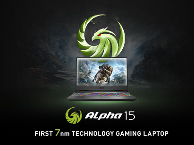 MSI Brings the New Alpha Series, the First 7nm Technology Gaming Laptop