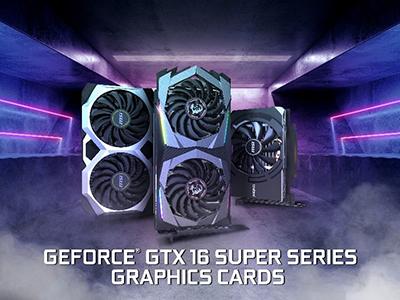 MSI dévoile ses nouvelles séries de cartes graphiques 16 SUPER™