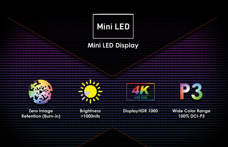 Představujeme displej nové generace pro tvůrce MSI Creator 17, první notebook s mini LED obrazovkou!