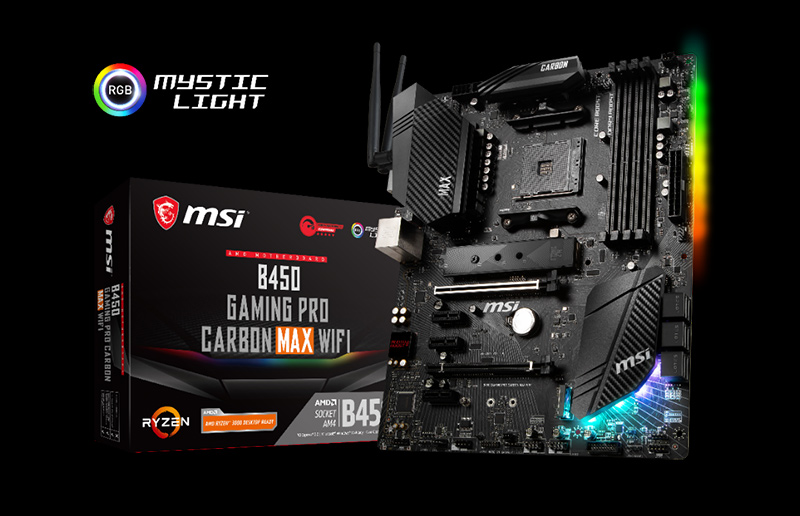 MAXIMIZE YOUR PERFORMANCE WITH B450 MAX MOTHERBOARDS