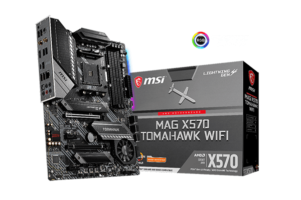 Return to  honor with MAG X570 TOMAHAWK WIFI motherboards