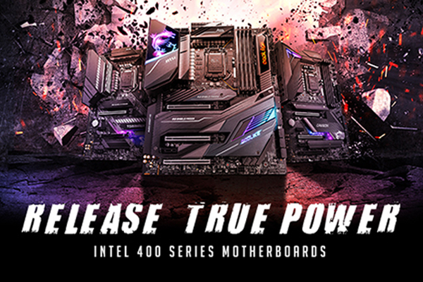 Release True Power: MSI 400 Series Motherboards