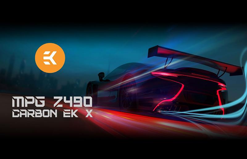 BE THE GAME-CHANGER: MSI MPG Z490 CARBON EK X