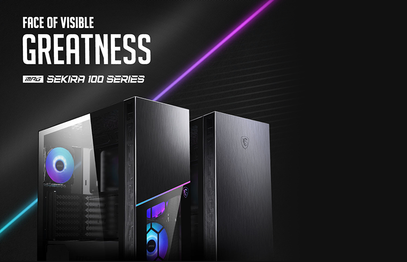 Shoot for the Stars with the MPG SEKIRA 100 Series Gaming PC Case