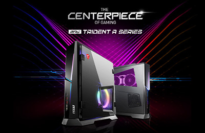 MSI Showcases Its Latest Compact Gaming Desktops – The MPG Trident AS & MPG Trident A