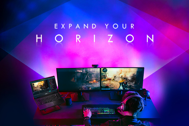 Expand Your Horizons By MSI Monitor And Win The Grand Prize